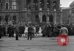 Image of German citlzens gathering on Unter den Linden Berlin Germany, 1920, second 41 stock footage video 65675042454