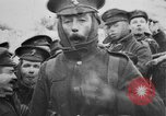 Image of British soldiers sharing Christmas pudding in trenches France, 1916, second 52 stock footage video 65675042463