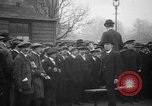 Image of British men being conscripted during World War I United Kingdom, 1916, second 3 stock footage video 65675042465