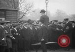 Image of British men being conscripted during World War I United Kingdom, 1916, second 5 stock footage video 65675042465