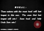 Image of save food campaign United States USA, 1918, second 52 stock footage video 65675042475