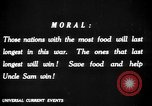 Image of save food campaign United States USA, 1918, second 54 stock footage video 65675042475
