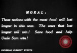Image of save food campaign United States USA, 1918, second 57 stock footage video 65675042475