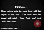Image of save food campaign United States USA, 1918, second 61 stock footage video 65675042475