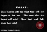 Image of save food campaign United States USA, 1918, second 62 stock footage video 65675042475
