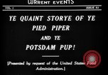 Image of Animated Uncle Sam as Pied Piper United States USA, 1918, second 8 stock footage video 65675042476