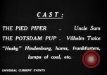 Image of Animated Uncle Sam as Pied Piper United States USA, 1918, second 19 stock footage video 65675042476