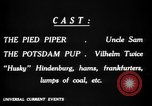Image of Animated Uncle Sam as Pied Piper United States USA, 1918, second 26 stock footage video 65675042476