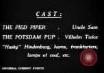 Image of Animated Uncle Sam as Pied Piper United States USA, 1918, second 27 stock footage video 65675042476
