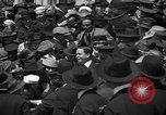 Image of Chaplin, Pickford, and Fairbanks at the Third Liberty Loan drive Washington DC USA, 1918, second 3 stock footage video 65675042480