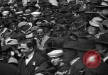 Image of Chaplin, Pickford, and Fairbanks at the Third Liberty Loan drive Washington DC USA, 1918, second 8 stock footage video 65675042480