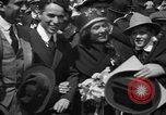 Image of Chaplin, Pickford, and Fairbanks at the Third Liberty Loan drive Washington DC USA, 1918, second 13 stock footage video 65675042480