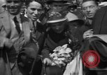Image of Chaplin, Pickford, and Fairbanks at the Third Liberty Loan drive Washington DC USA, 1918, second 14 stock footage video 65675042480