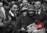 Image of Chaplin, Pickford, and Fairbanks at the Third Liberty Loan drive Washington DC USA, 1918, second 16 stock footage video 65675042480