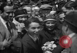 Image of Chaplin, Pickford, and Fairbanks at the Third Liberty Loan drive Washington DC USA, 1918, second 18 stock footage video 65675042480