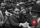 Image of Chaplin, Pickford, and Fairbanks at the Third Liberty Loan drive Washington DC USA, 1918, second 19 stock footage video 65675042480