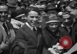 Image of Chaplin, Pickford, and Fairbanks at the Third Liberty Loan drive Washington DC USA, 1918, second 20 stock footage video 65675042480