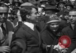 Image of Chaplin, Pickford, and Fairbanks at the Third Liberty Loan drive Washington DC USA, 1918, second 21 stock footage video 65675042480