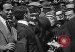 Image of Chaplin, Pickford, and Fairbanks at the Third Liberty Loan drive Washington DC USA, 1918, second 22 stock footage video 65675042480
