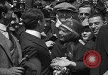 Image of Chaplin, Pickford, and Fairbanks at the Third Liberty Loan drive Washington DC USA, 1918, second 23 stock footage video 65675042480