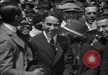 Image of Chaplin, Pickford, and Fairbanks at the Third Liberty Loan drive Washington DC USA, 1918, second 24 stock footage video 65675042480