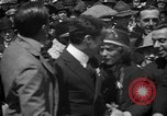 Image of Chaplin, Pickford, and Fairbanks at the Third Liberty Loan drive Washington DC USA, 1918, second 25 stock footage video 65675042480