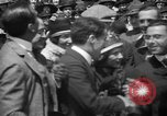 Image of Chaplin, Pickford, and Fairbanks at the Third Liberty Loan drive Washington DC USA, 1918, second 26 stock footage video 65675042480