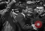 Image of Chaplin, Pickford, and Fairbanks at the Third Liberty Loan drive Washington DC USA, 1918, second 27 stock footage video 65675042480