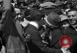 Image of Chaplin, Pickford, and Fairbanks at the Third Liberty Loan drive Washington DC USA, 1918, second 28 stock footage video 65675042480