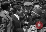 Image of Chaplin, Pickford, and Fairbanks at the Third Liberty Loan drive Washington DC USA, 1918, second 31 stock footage video 65675042480