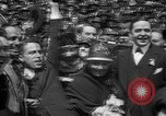 Image of Chaplin, Pickford, and Fairbanks at the Third Liberty Loan drive Washington DC USA, 1918, second 35 stock footage video 65675042480