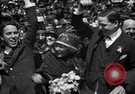 Image of Chaplin, Pickford, and Fairbanks at the Third Liberty Loan drive Washington DC USA, 1918, second 41 stock footage video 65675042480