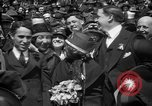 Image of Chaplin, Pickford, and Fairbanks at the Third Liberty Loan drive Washington DC USA, 1918, second 43 stock footage video 65675042480