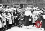 Image of French women support soldiers and war effort France, 1917, second 2 stock footage video 65675042484