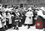 Image of French women support soldiers and war effort France, 1917, second 4 stock footage video 65675042484