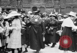 Image of French women support soldiers and war effort France, 1917, second 6 stock footage video 65675042484