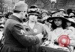Image of French women support soldiers and war effort France, 1917, second 17 stock footage video 65675042484