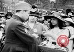 Image of French women support soldiers and war effort France, 1917, second 18 stock footage video 65675042484