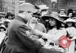 Image of French women support soldiers and war effort France, 1917, second 19 stock footage video 65675042484
