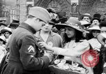 Image of French women support soldiers and war effort France, 1917, second 22 stock footage video 65675042484