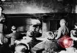 Image of French children in World War I France, 1918, second 39 stock footage video 65675042486