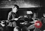 Image of French children in World War I France, 1918, second 50 stock footage video 65675042486