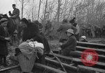 Image of French refugees with American soldiers in World War I France, 1918, second 8 stock footage video 65675042495