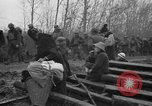 Image of French refugees with American soldiers in World War I France, 1918, second 14 stock footage video 65675042495