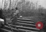 Image of French refugees with American soldiers in World War I France, 1918, second 26 stock footage video 65675042495