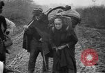 Image of French refugees with American soldiers in World War I France, 1918, second 38 stock footage video 65675042495