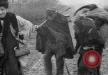 Image of French refugees with American soldiers in World War I France, 1918, second 40 stock footage video 65675042495