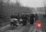 Image of French refugees with American soldiers in World War I France, 1918, second 50 stock footage video 65675042495