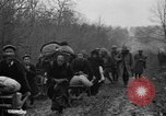 Image of French refugees with American soldiers in World War I France, 1918, second 54 stock footage video 65675042495