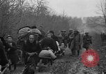 Image of French refugees with American soldiers in World War I France, 1918, second 55 stock footage video 65675042495